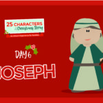 25 Characters of the Christmas Story / Day 6: Joseph