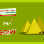 25 Characters of the Christmas Story / Day 22: Egypt