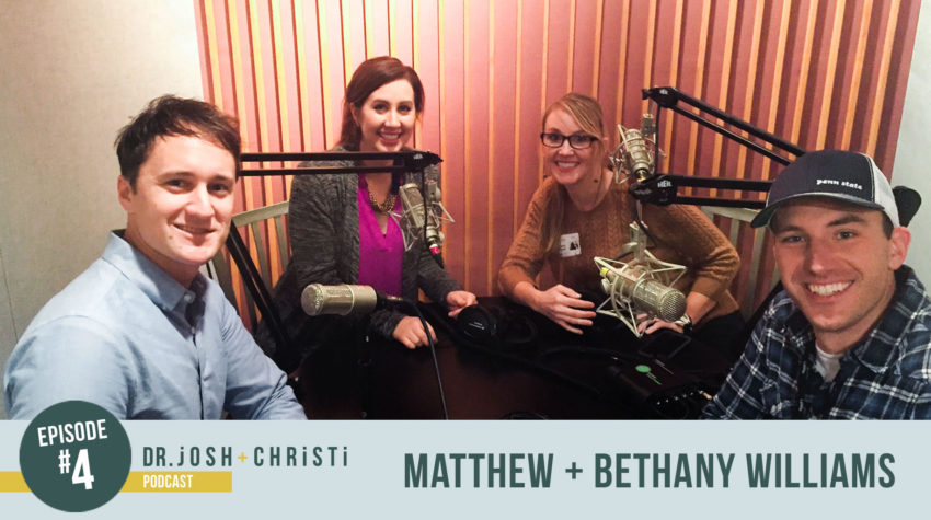 #4: Matthew + Bethany Williams–Discovering Hope and Laughter in the Trenches of Nonprofit Ministry, Together